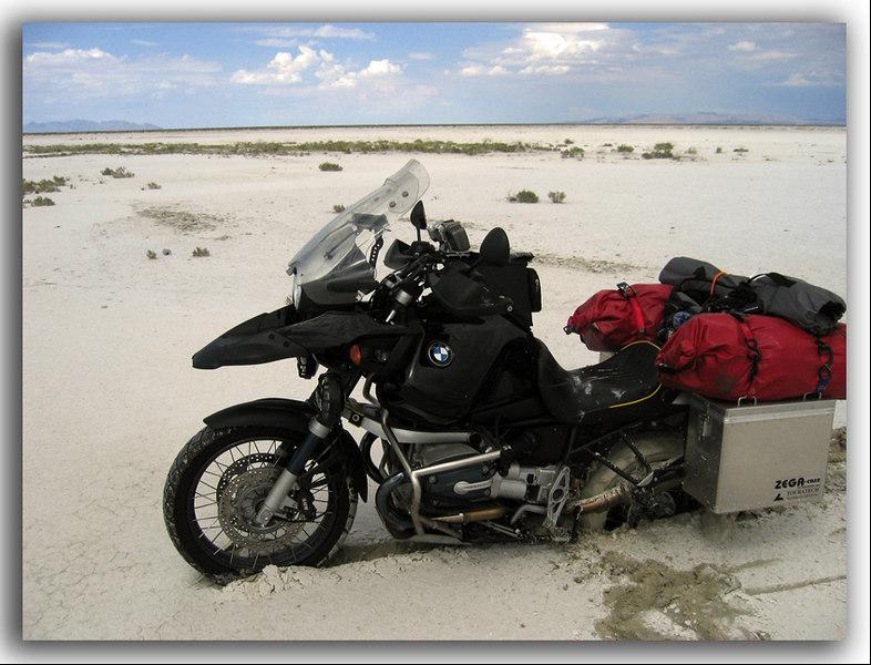 Bonneville Salt Flats - it seemed a good idea at the time...