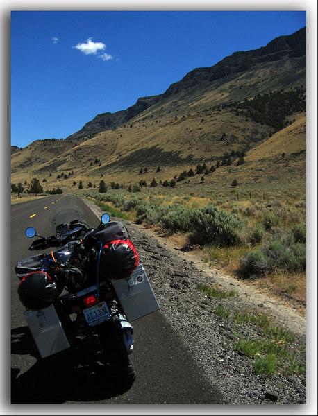 US395 in eastern Oregon