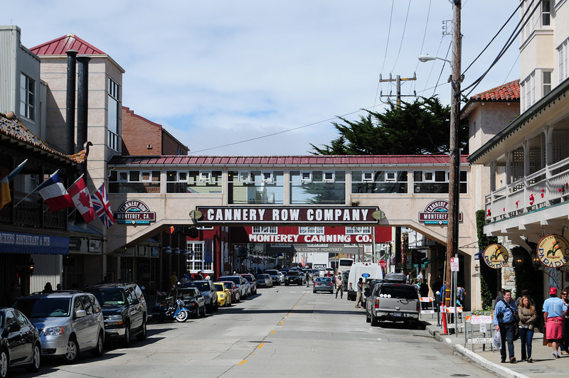 Walking through Monterey
