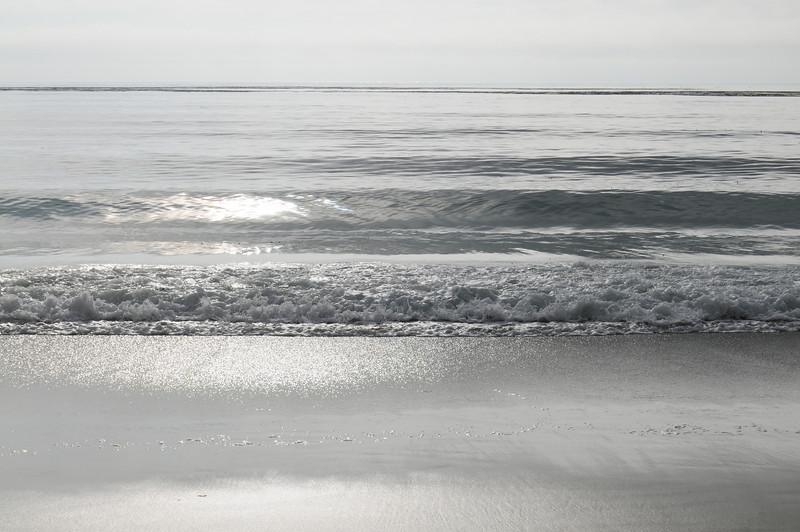 Ocean at the Pebble Beach.