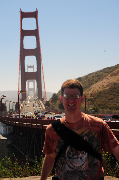 Bonus points if you know what bridge this is behind me.