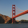 The Golden Gate Bridge.  I love the colors in this picture.