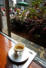 A shot of espresso at the cafe in Union Square.