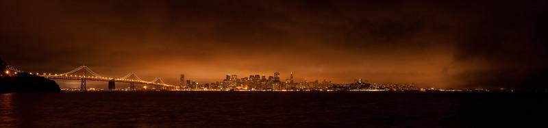 San Francisco at Night, August 20, 2011