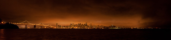 San Francisco Skyline from Treasure Island, August, 2011