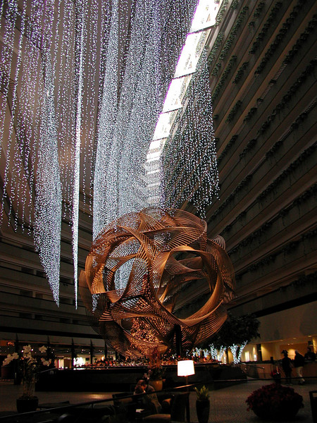 "Hyatt Regency  ""Oh my God"" lobby"