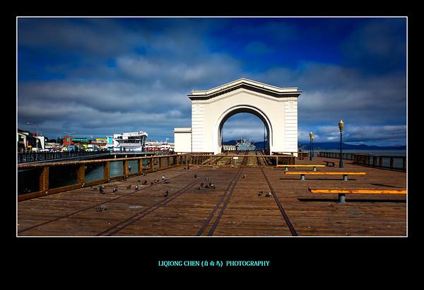 旧金山渔人码头,游客必访之地