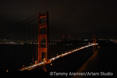 at night from Marin Headlands, October 2009