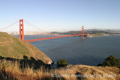 from Marin Headlands, May 2004