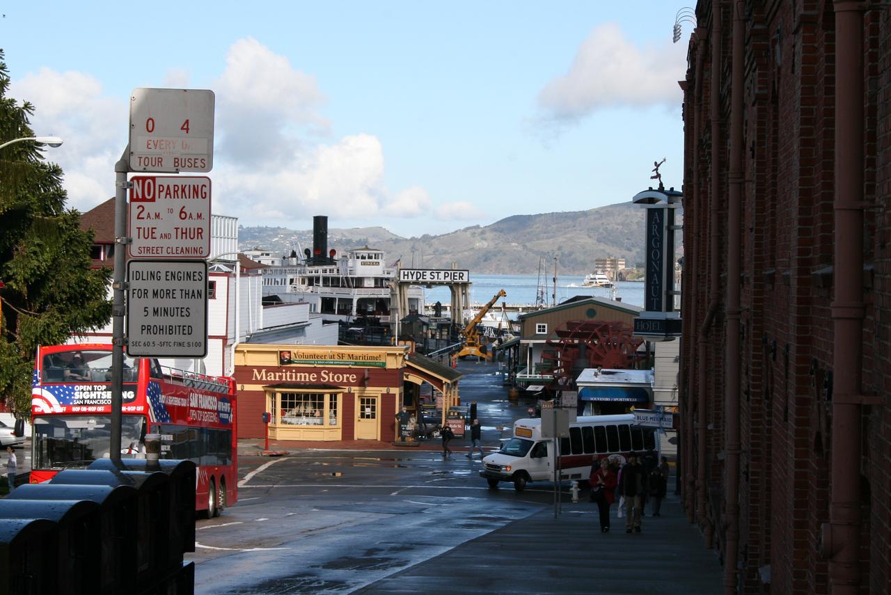 Feb. 20/08 - Hyde Street Pier, San Francisco