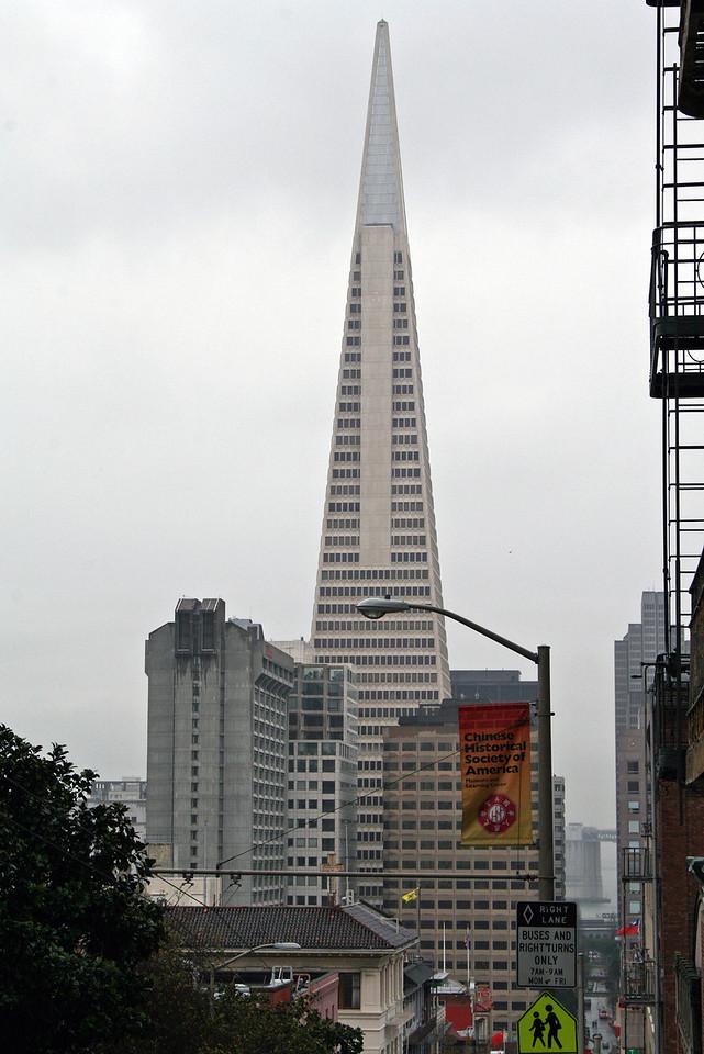 Feb. 19/08 - Transamerica Pyramid & Financial District, San Francisco