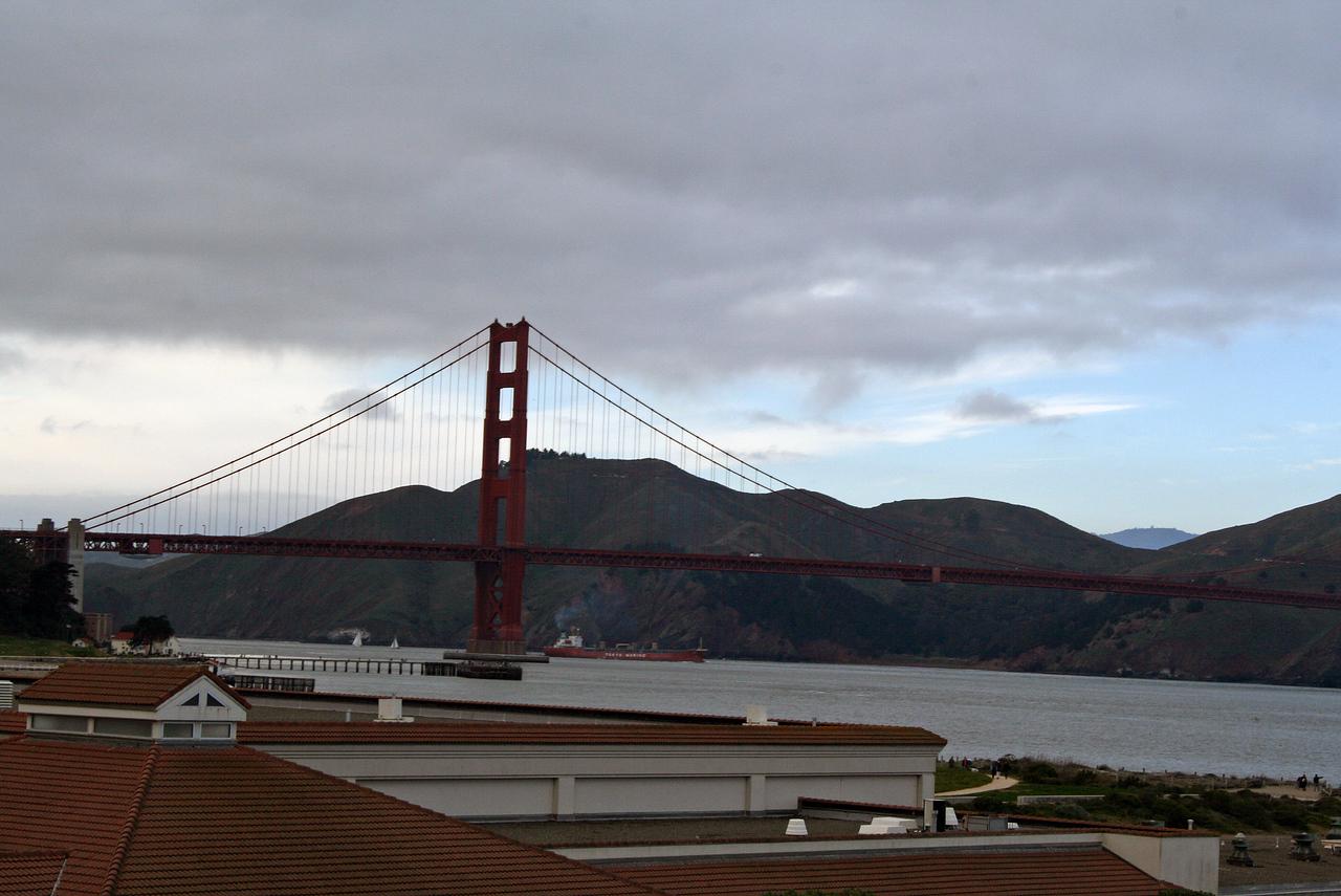 Feb. 18/08 - Golden Gate Bridge from The Presidio, San Francisco