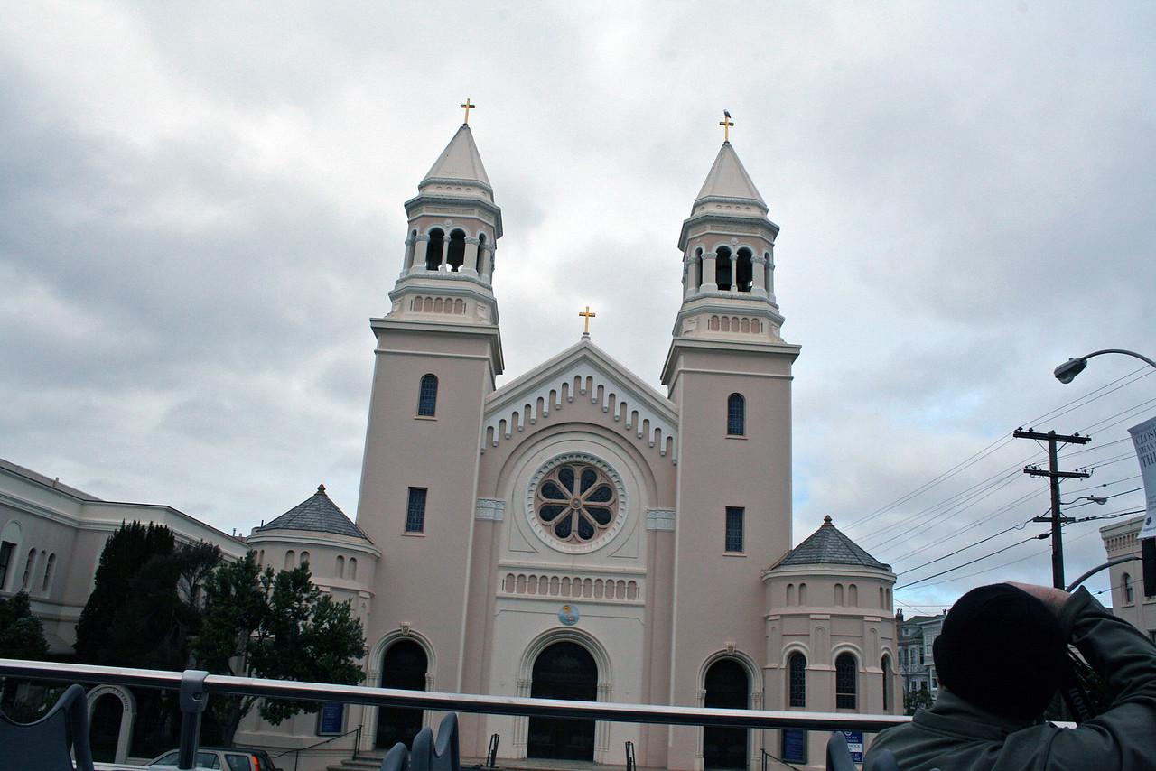 Feb. 18/08 - Church in S.F.