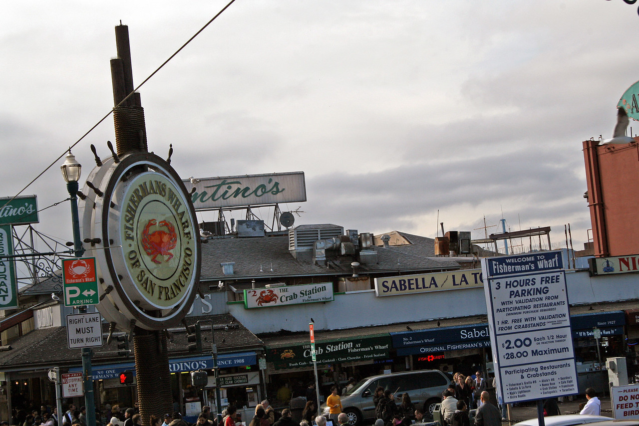 Feb. 18/08 - Fisherman's Wharf, San Francisco