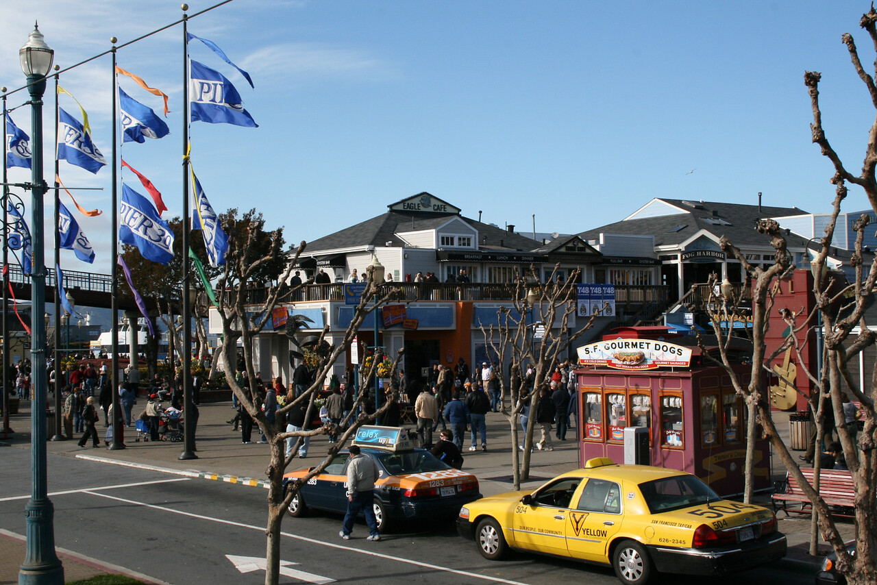 Feb. 18/08 - Pier 39 on The Embarcadero, San Francisco