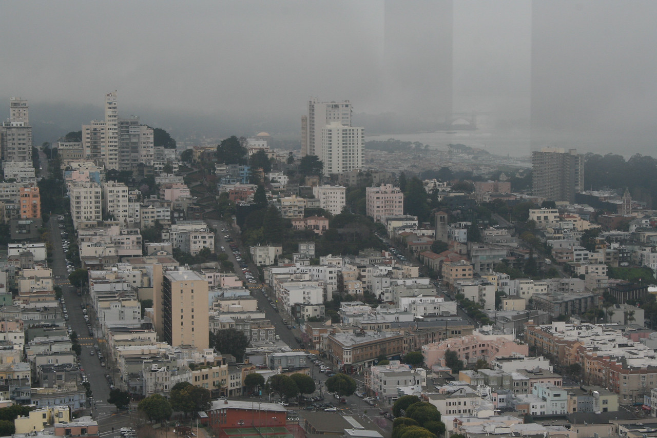 Feb. 19/08 - S.F. from top of Coit Tower