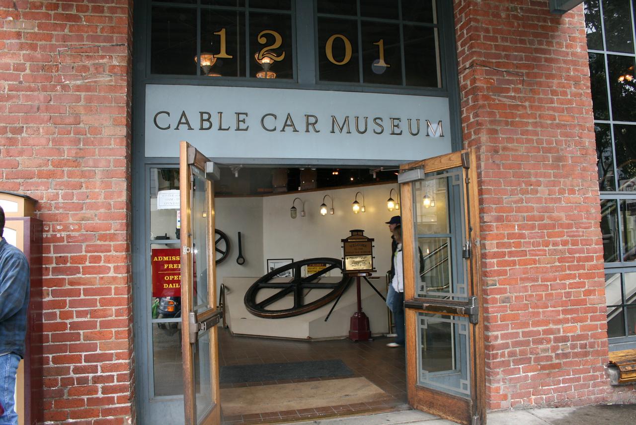 Feb. 19/08 - Cable Car Museum, San Francisco