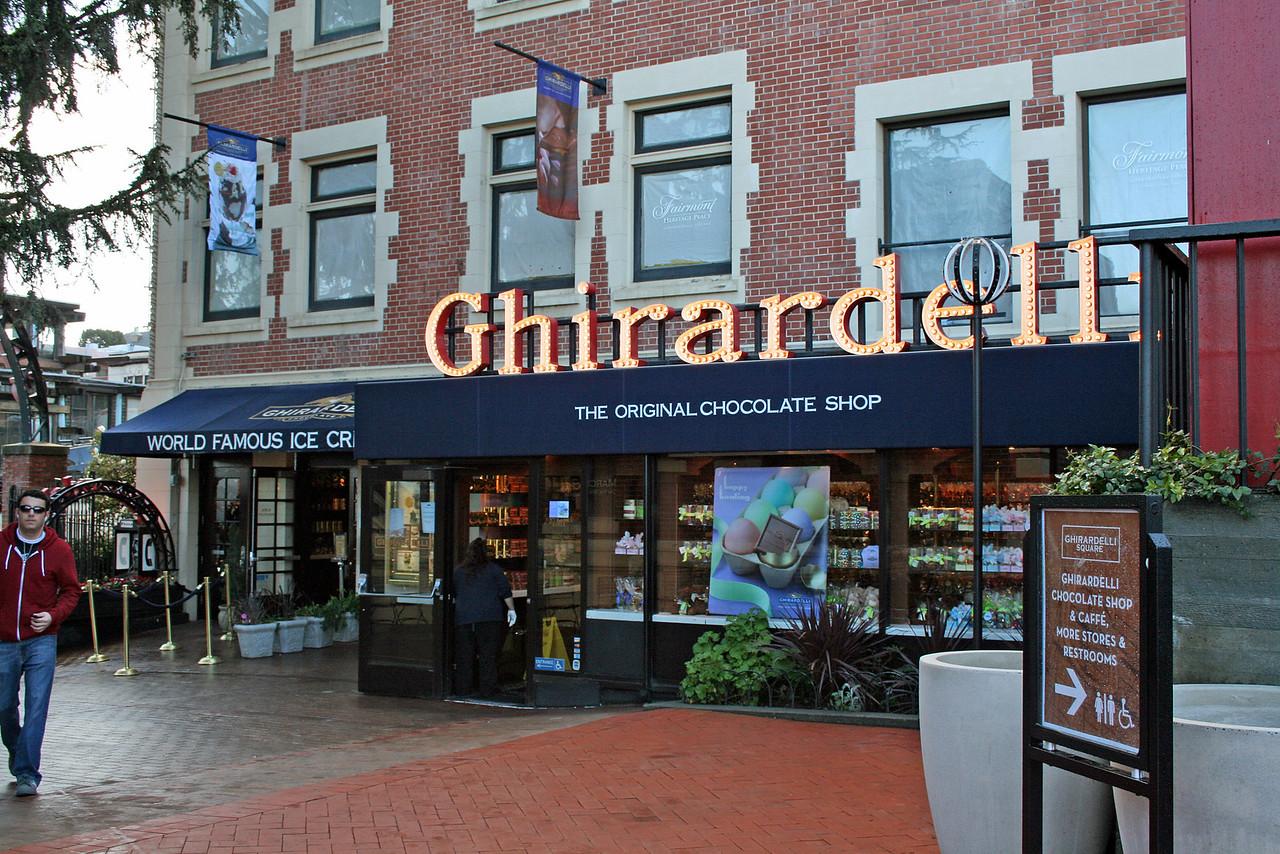Feb. 20/08 - Inside Ghirardelli Square, San Francisco