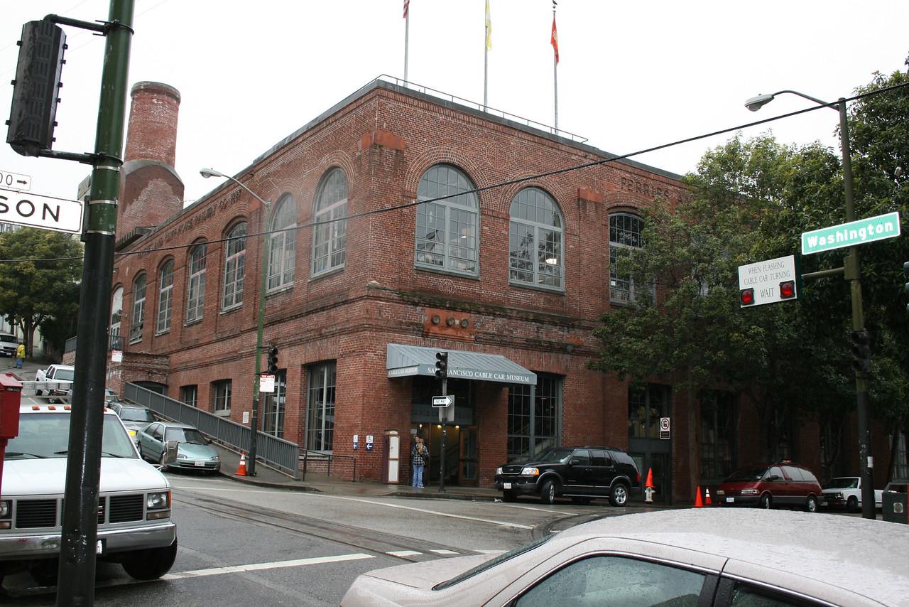 Feb. 19/08 - Cable Car Museum at Washington & Mason Streets, San Francisco