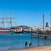 San Francisco Maritime Park<br /> (2-shot pano)