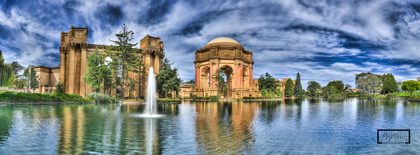 Palace of Fine Arts, San Francisco © Copyright m2 Photography - Michael J. Mikkelson 2013. All Rights Reserved. Images can not be used without permission.