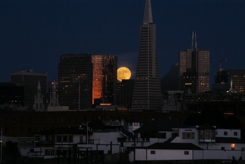 San Francisco Moonrise