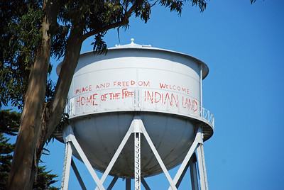 In the 70s, a group of Indians squatted on Alcatraz.