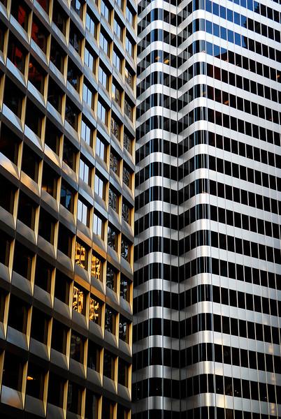 Downtown windows, San Francisco