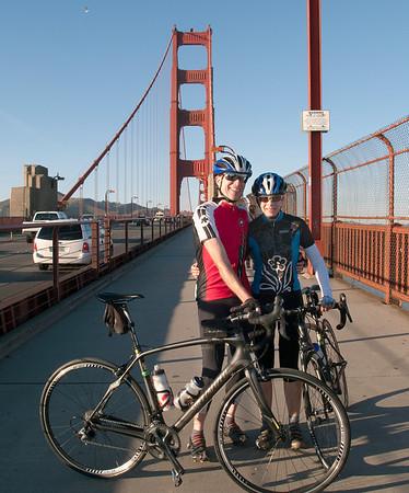 Randy & Calla at some landmark