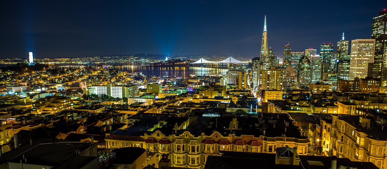 City from Nob Hill