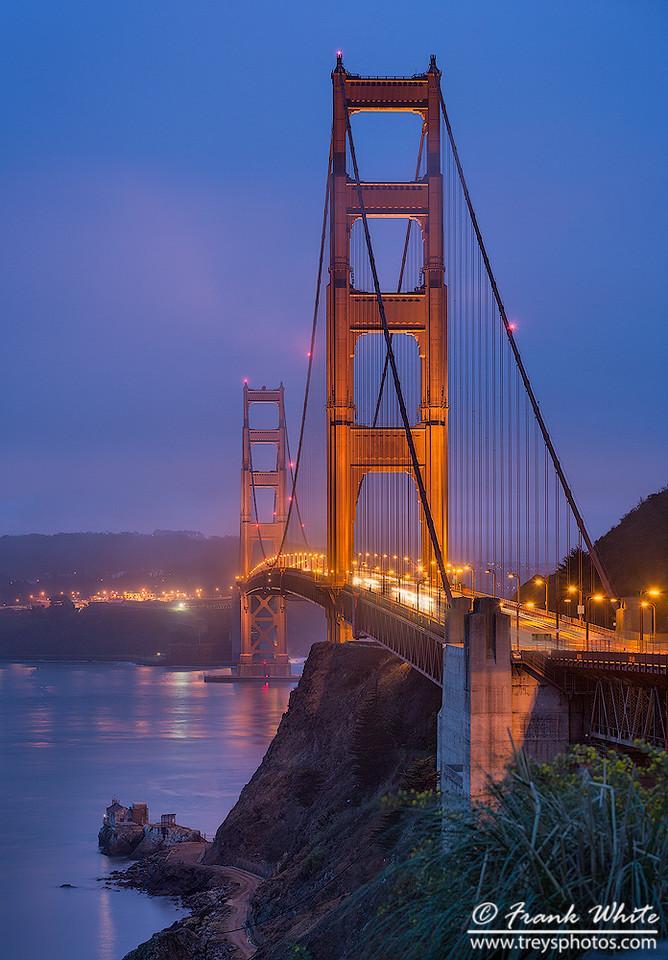 Golden Gate Bridge blue hour #2
