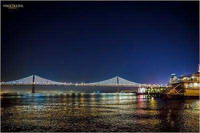 Pier 5, sweeping views of the Bay Bridge