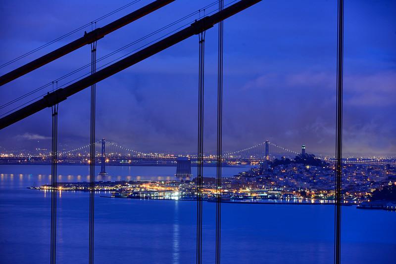 San Francisco through the Golden Gate