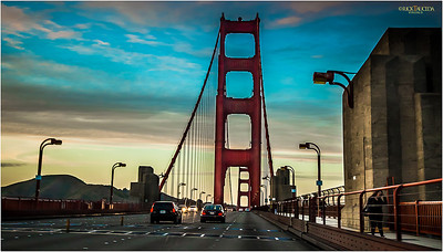 The Bridge connects San Francisco to California's northern counties.