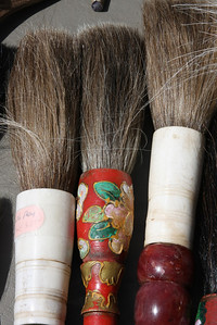 Brushes in Flea Market