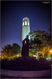 Coit Tower, also known as the Lillian Coit Memorial Tower, is a 210-foot tower in the Telegraph Hill neighborhood of San Francisco, California