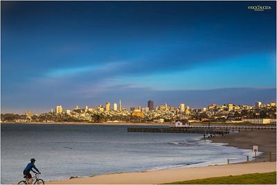 Golden Gate Promenade view