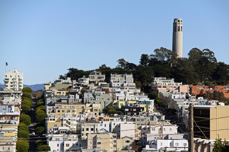 Coit Tower in all its splender.