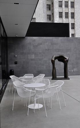 Cafe at the Sculpture Garden of the Musueum of Modern Art