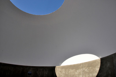 """James Turrell """"Skyscape"""" at the deYoung Museum"""