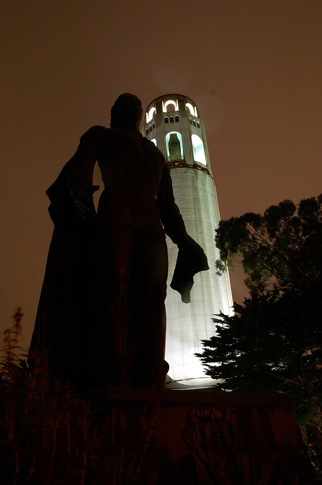 Coit Tower, Nov 2005