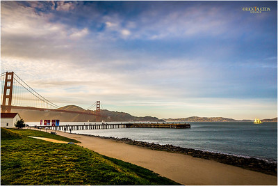Torpedo Wharf & Golden Gate Bridge