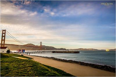 Torpedo Wharf & Golden Gate Bridge