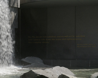 Martin Luther King Memorial at Yerba Buena Gardens