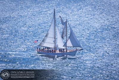 Sailing Ship on San Francisco Bay
