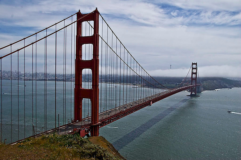 Golden Gate Bridge from Golden Gate National Recreation Area