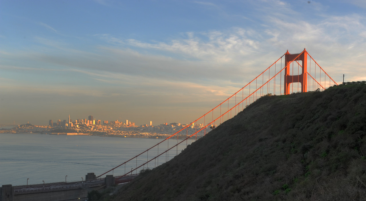 Late afternoon from Marin Headlands.