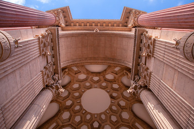 Palace of Fine Arts Inner Dome - San Francisco, CA