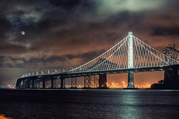 New and Old Bay Bridge