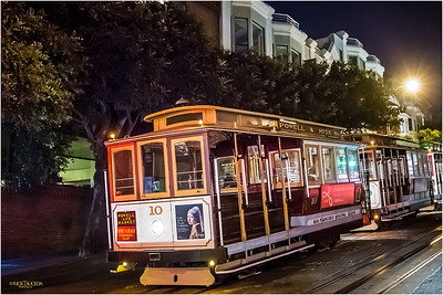 The San Francisco cable car system is a manually operated cable car system.